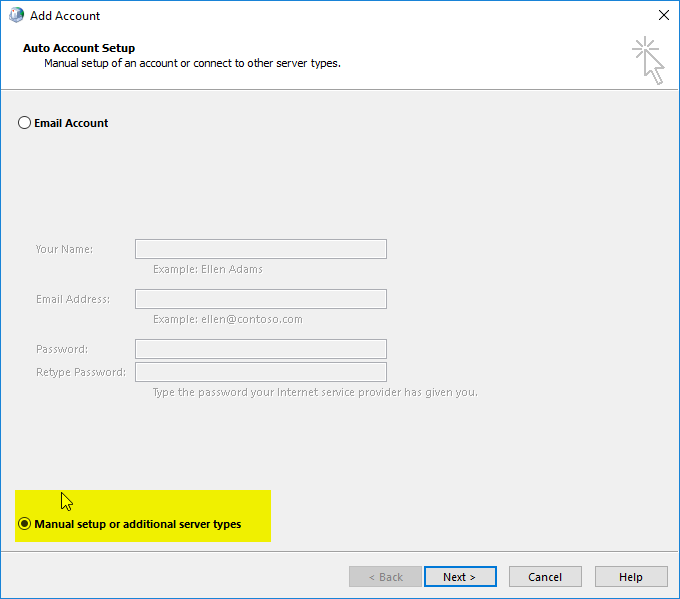 Setup New Email Account in Outlook | Nutty About Hosting